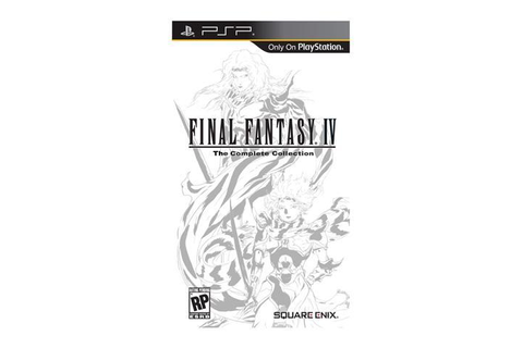 Final Fantasy IV The Complete Collection PSP Game SQUARE ...