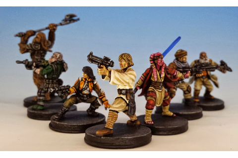 Imperial Assault Heroes, Fantasy Flight Games (2014 ...