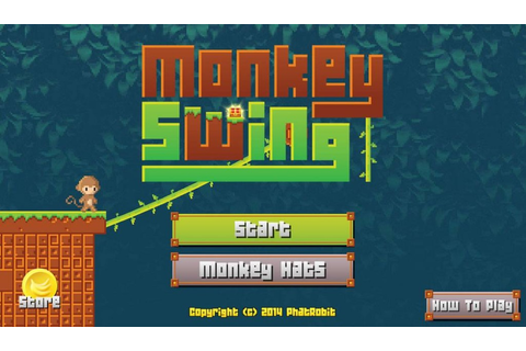 Monkey Swing: Swinging Monkeys Wearing Funny Hats | Mobile ...