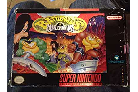 Amazon.com: Battletoads in Battlemaniacs: Video Games
