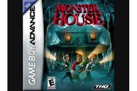 Monster house gba game: 4th floor music - YouTube