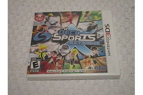 Nintendo 3DS Deca Sports Extreme Video Game | eBay