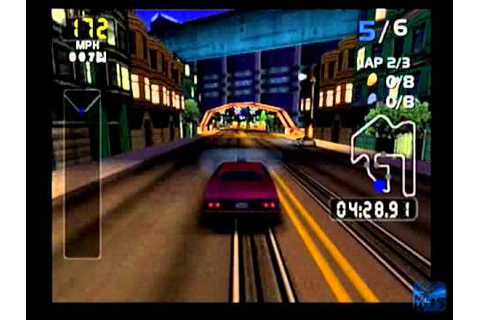 First Look: San Francisco Rush 2049 (Dreamcast) - YouTube