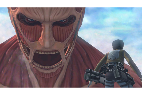 Attack on Titan The Game: 3DS Gameplay Trailer #2, The ...