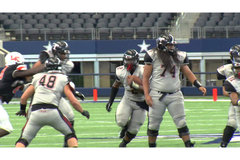 Euless Trinity Running Game is Dominating - YouTube