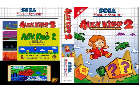 Alex Kidd 2 Curse In Miracle World Parte 2 - YouTube