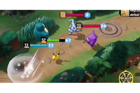 Pokemon Unite is a new Pokemon-themed mobile MOBA | UnGeek