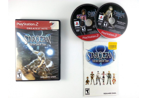 Star Ocean Till the End of Time game for Playstation 2 ...