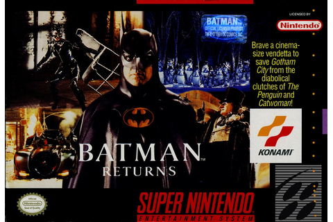 Batman Returns (Video Game) | Batman Wiki | FANDOM powered ...