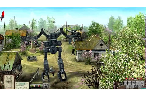 Soldiers Heroes of World War II mod German robot - YouTube