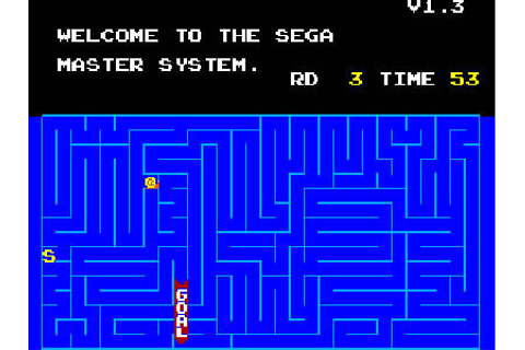Snail Maze Review for Master System (1986) - Defunct Games