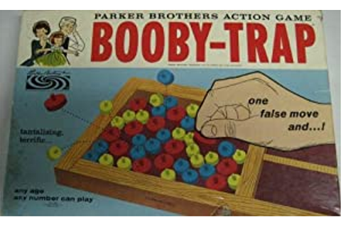 Amazon.com: Booby-Trap Parker Brothers Action Game ...