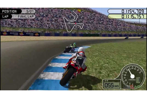 Moto GP - Gameplay PSP HD 720P (Playstation Portable ...