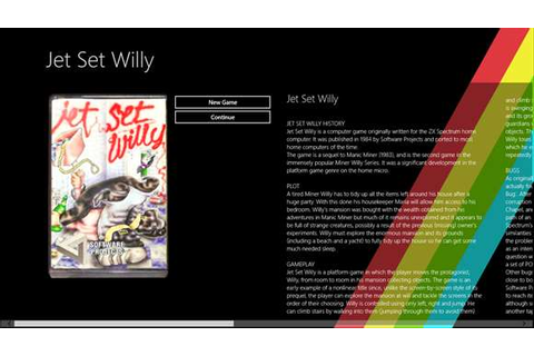 Jet Set Willy: ZX Spectrum – Windows Games on Microsoft Store