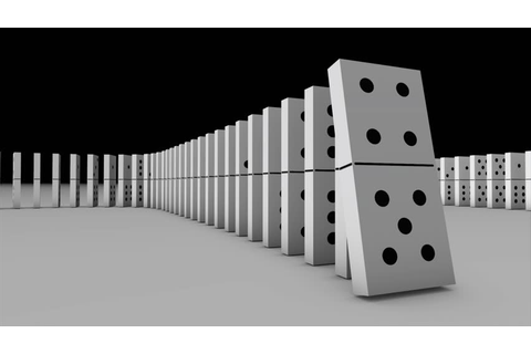 Dominoes Falling Stock Footage Video | Shutterstock