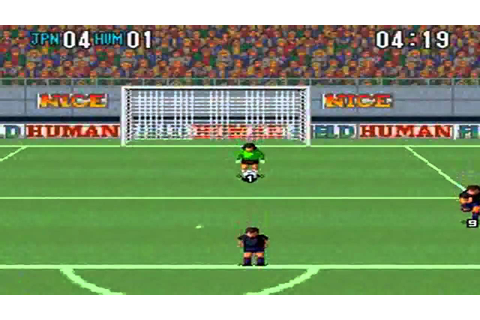 Super Formation Soccer 2 : Japan VS Human - YouTube