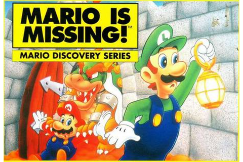 Test du jeu Oldies : Mario is Missing! : Le plaisir de jeu ...