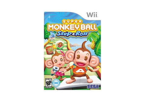 Super Monkey Ball Step & Roll Wii Game - Newegg.com