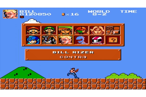 Super Mario Bros - Crossover 3.0 - Contra - YouTube