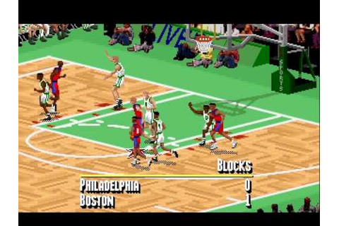 IE 16 PC games review - NBA live 95 (1995) - YouTube