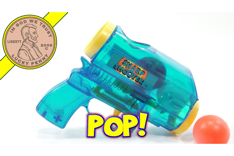 Sharp Shooter Ping Pong Ball Pop Gun, Imperial Toys - YouTube