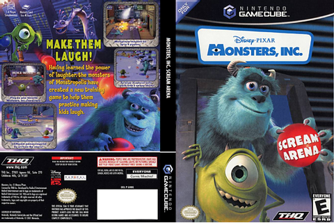 GMNE78 - Monsters, Inc. Scream Arena