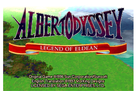 Albert Odyssey: Legend of Eldean