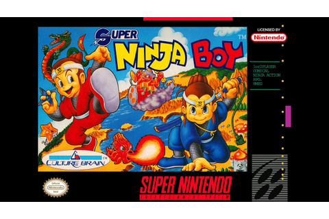 Is Super Ninja Boy Worth Playing Today? - SNESdrunk - YouTube