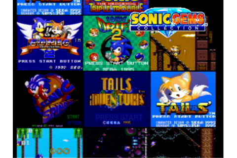 Sonic World :: Game Info Archive :: Sonic Gems Collection