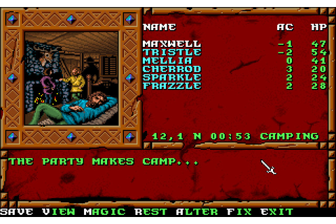 Treasures of the Savage Frontier (1992 - DOS). Ссылки ...