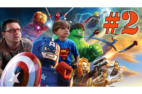 Lego Marvel Super Heroes Video Game: Gaming Part 2 - YouTube