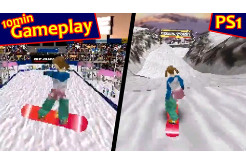 Cool Boarders 2 ... (PS1) - YouTube