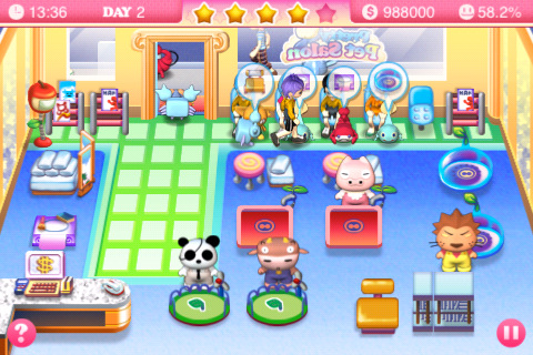 Pretty Pet Salon App for iPad - iPhone - Games