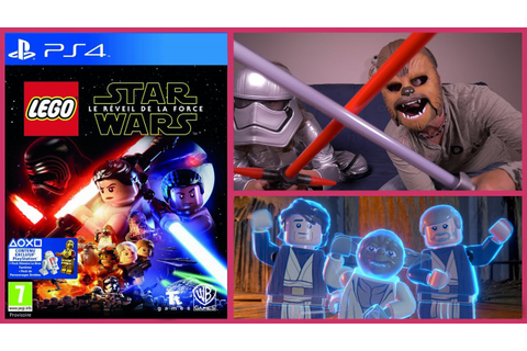 [JEU VIDEO] PS4 Lego Star Wars Le Réveil de la Force ...