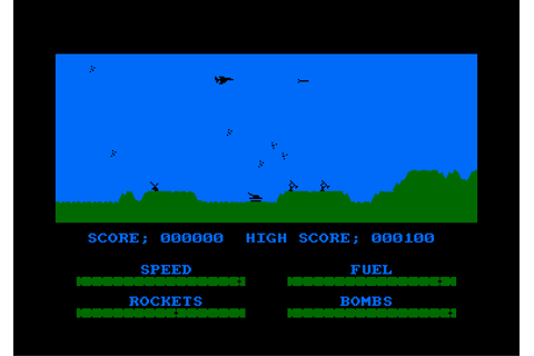 Download Harrier Attack! - My Abandonware
