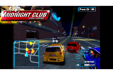 Midnight Club: Street Racing ... (PS2) - YouTube
