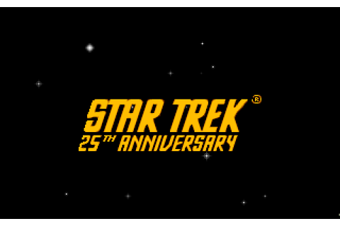 Star Trek: 25th Anniversary (1994) by Metadigm Amiga AGA game