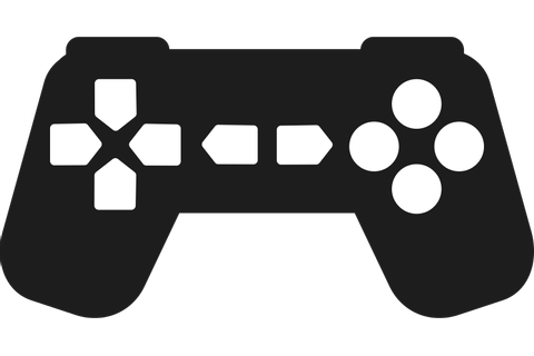 Game Controller Silhouette - ClipArt Best