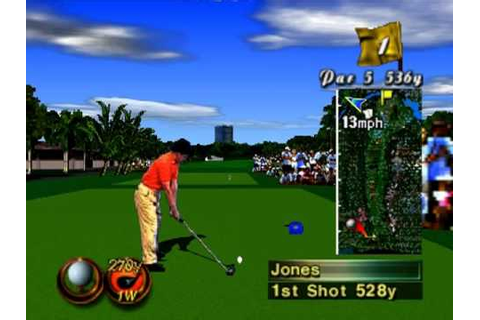 Nintendo 64 Waialae Country Club True Golf Classics USA ...