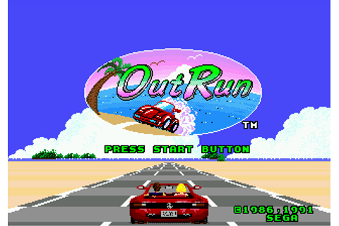 Play OutRun Sega Genesis online | Play retro games online ...