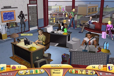 Games by Hiryuu: PC - Tabloid Tycoon