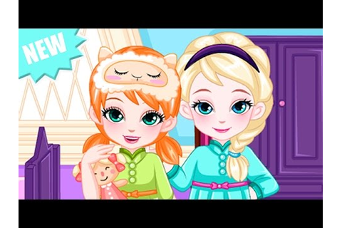 Baby Disney Princess Game - Frozen Sisters Baby Elsa ...