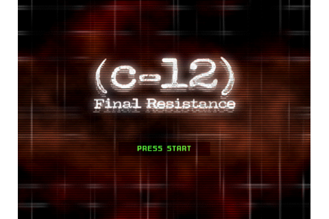 C-12: Final Resistance Screenshots for PlayStation - MobyGames