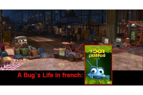 Image - A Bug`s Life in Cars 2= 1001 Pattes. I discover it ...