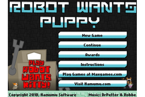 Robot Wants Puppy Hacked (Cheats) - Hacked Free Games