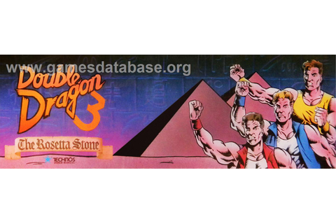 Double Dragon 3 - The Rosetta Stone - Arcade - Games Database