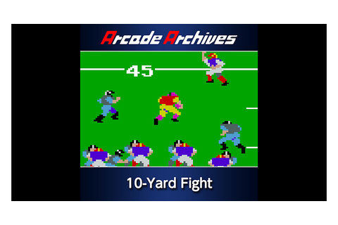 Arcade Archives 10-Yard Fight Game | PS4 - PlayStation