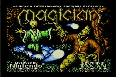 The RPG Consoler: Game 27: Magician (NES) - Warmed Up ...