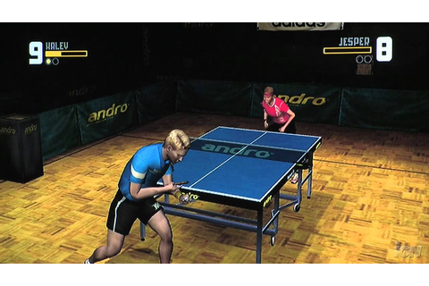 Rockstar Games Presents Table Tennis Nintendo Wii Gameplay ...