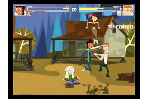Total Drama Fighters - The Videogame (MUGEN) - YouTube
